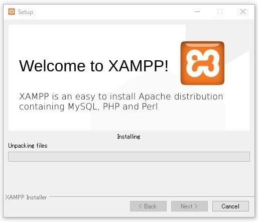 XAMPPインストール方法13