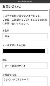 cPanel電子メール転送確認1