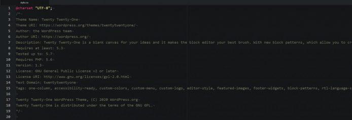 Wordpress_親テーマCSSの編集と削除_002